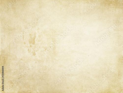 Obraz na plátně  Old stained paper background.