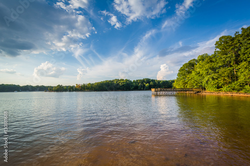 Valokuvatapetti Lake Norman, at Ramsey Creek Park, in Cornelius, North Carolina.