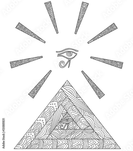 Eye Of Horus Triangle