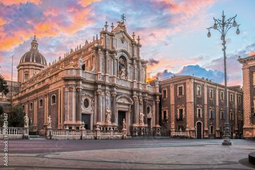 Duomo di Catania in HDR