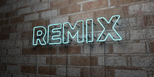 REMIX - Glowing Neon Sign On S...
