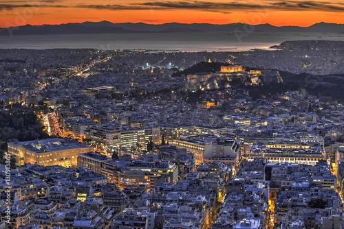 Staande foto Athene Acropolis of Athens, Greece