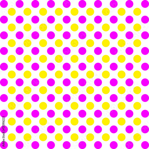 Pink And Yellow Polka Dots Pattern On White Background Design Buy This Stock Illustration And Explore Similar Illustrations At Adobe Stock Adobe Stock,Backyard Baby Shower Decorations Outdoor