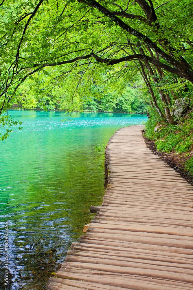 Fototapety, obrazy: Plitvicer Seen, Kroatien