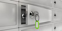 3d Illustration Of Open Safe D...