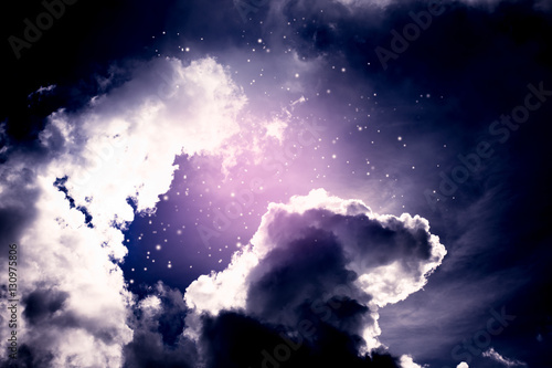 dark-space-background-of-night-sky-with-cloud-and-stars