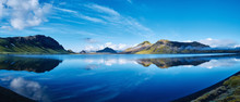 Panoramic Picture Of Alftavatn...