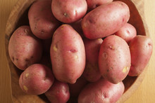 Fresh, Whole Red Potatoes