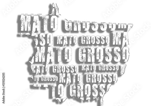 Fotografija  Mapa  Mato Grosso