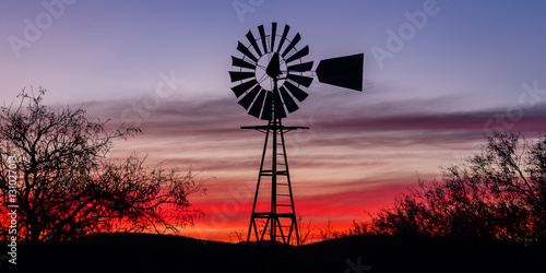 """Fotomural """"Tombstone Twilight"""" Traveling to Tombstone, Arizona on a cool December morning"""