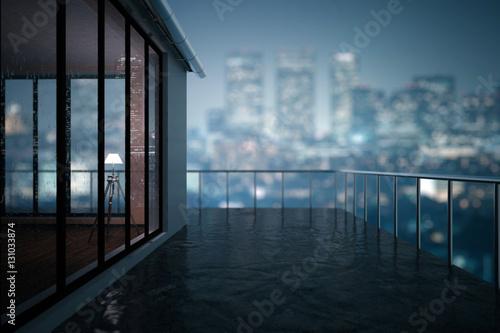 Fotografija  Balcony closeup