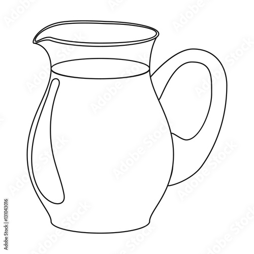 coloring pages pitcher of water - photo#42