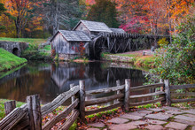 Mabry Mill, Autumn Scenic