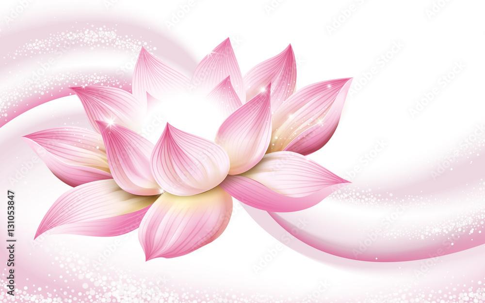 Photo Art Print Lotus Flower Background Europosters