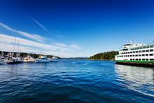 Washington State Ferry At The ...