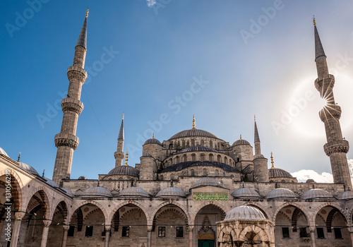 Fototapeta Błękitny Meczet Istanbuł, Turcja. Sultanahmet Camii.