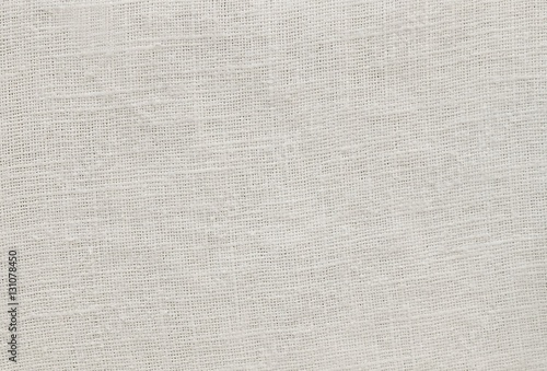 Fotobehang Stof Close Up Background of White Cotton Texture