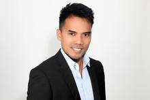 Portrait D Un Jeune Homme Philippin
