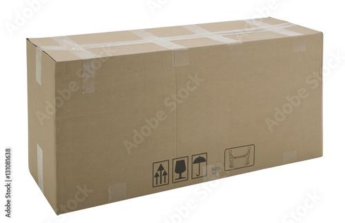Fotografering  scatola di cartone