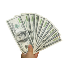 Cash. Money. US Dollars. 100 D...