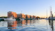 Leinwandbild Motiv Hafen Greifswald