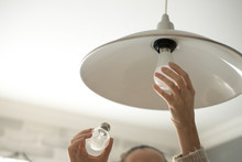 Power Save LED Lamp Changing