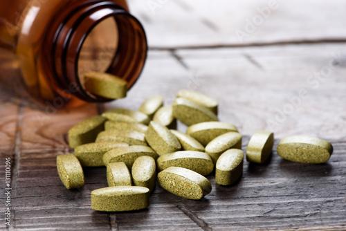 Fotografia Dietary supplement pills