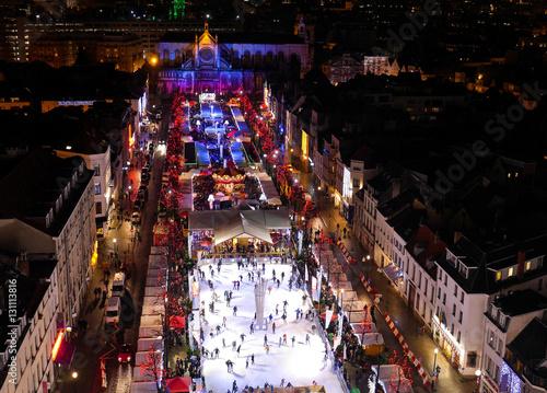 Poster Brussel Weihnachtsmarkt Brüssel