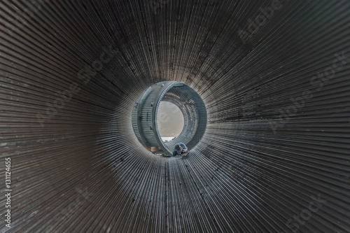 Fotografie, Tablou  Metal tunnel welder