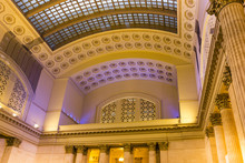 Union Station Hall In Chicago
