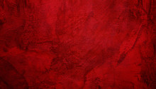 Abstract Grunge Decorative Red...