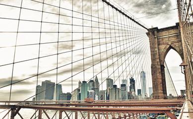 Fototapeta Mosty Brooklyn Bridge.