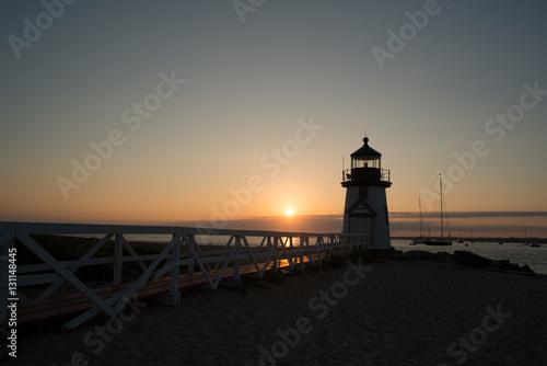 Montage in der Fensternische Leuchtturm Nantucket Light