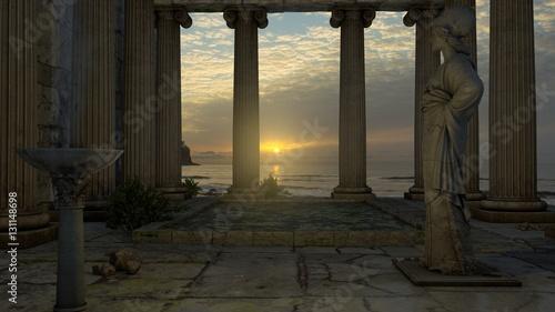 Fotografie, Tablou  Templo de Atenea