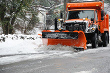 Snowplow Removing Snow In The ...