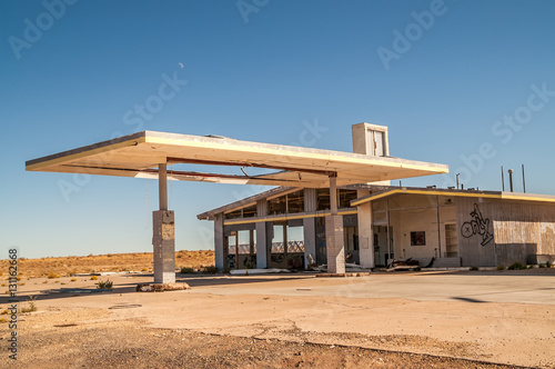 Photo  Former Service Station on Route 66