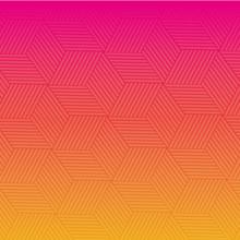 Orange And Pink Geometrical Background Pattern Image Background Pattern Image Vector Illustration Design