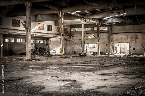 Photo Stands Old abandoned buildings abondened building