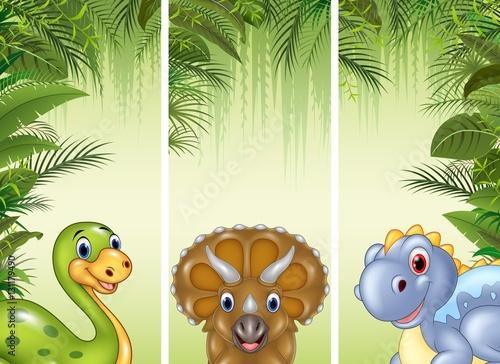 dinozaury-w-tropikalnym-lesie-ilustracja-dla-dzieci