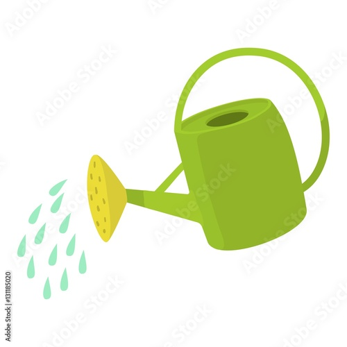 Obraz Watering can icon. Cartoon illustration of watering can vector icon for web design - fototapety do salonu