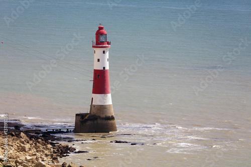 Fotografie, Obraz  The Lighthouse at Beachey Head