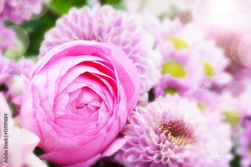 Photo Fresh flowers in spring