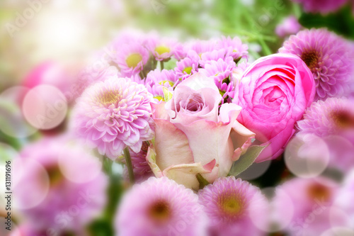 Foto  Spring bouquet for mothers day