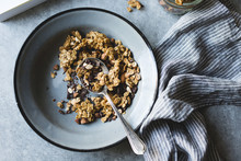Chocolate Granola Breakfast Bowl