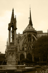 Paris,France,Notre Dame de Paris.