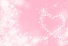 ハートのイルミネーション ピンクハート