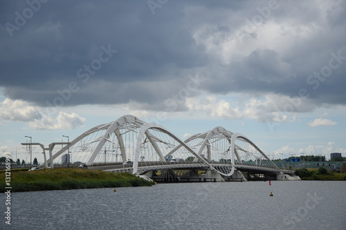Photo  Brücke bei Amsterdam
