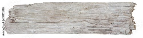 Photo Driftwood plank/ blank sign