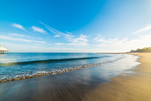 Sandy Shore In Malibu