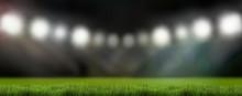 Sports Stadium Lights 3d Rende...